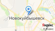 Медград на карте