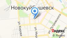 Ульяновская обувь на карте
