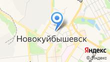 Новокуйбышевский психоневрологический диспансер на карте