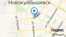 Жигулевский на карте
