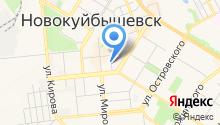 Центральная библиотека им. А.С. Пушкина г. Новокуйбышевска на карте