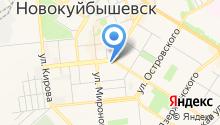 Детско-юношеский центр г. Новокуйбышевска на карте