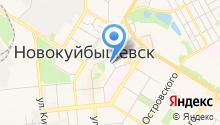 Милинк на карте
