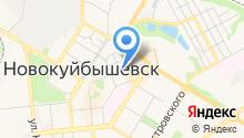 Народная на карте