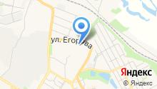 Магазин овощей и фруктов на ул. Егорова на карте