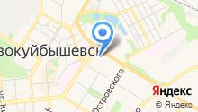 Отдел государственной статистики г. Новокуйбышевска на карте