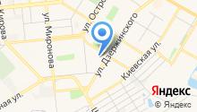 Отдел военного комиссариата Самарской области по г. Новокуйбышевску на карте