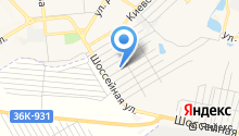 Автостоянка на Минской на карте