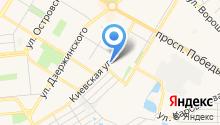 Аист, детский сад на карте