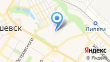 Радоница на карте