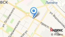 Бизнес-Персонал на карте