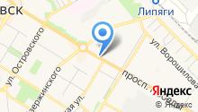 КИВИ-групп на карте