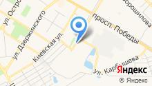 Центр социального обслуживания граждан пожилого возраста и инвалидов городского округа Новокуйбышевск на карте