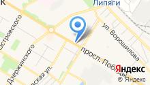 Нотариус Романова Л.В. на карте