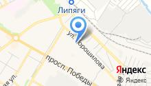 Основная общеобразовательная школа №9 на карте