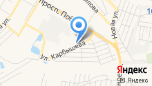 Карбышева №8 на карте