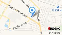 Городская автостанция на карте