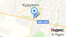 Приосколье-Самара на карте