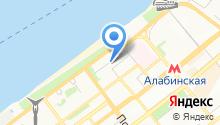 Budapest studio на карте