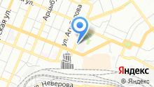 Бредень на карте