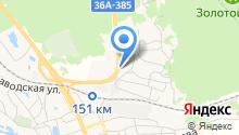 Автостоянка на ул. Жилгородок на карте