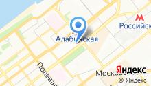 Марка на карте