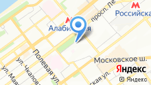 Самарский медико-технический лицей на карте