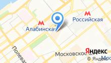 Элитория на карте
