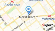 Bancloud.ru на карте