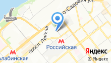 Адвокат Москалёв М.В. на карте