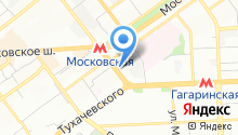 Сампост-Самара Логистик на карте