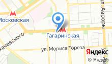 Ярмарка Гагаринская на карте