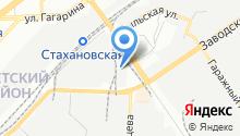 AUTO-SHUM на карте