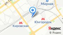 Самарская биржа труда на карте