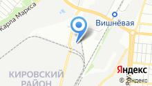 Ярославские краски-Самара на карте