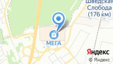 CORSAR на карте