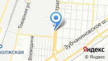 1245 УНР на карте