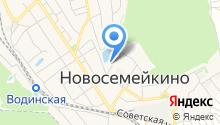 Новосемейкинский хлеб на карте