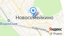 Магазин автотоваров на Жигулёвской на карте