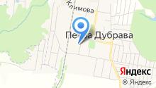 Петра-Дубравская средняя общеобразовательная школа на карте