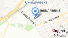 Смышляевская средняя общеобразовательная школа №3 на карте
