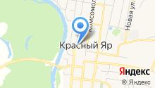 Единая Россия местное отделение Красноярского района на карте