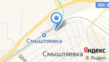 Самарский областной автомотоклуб на карте