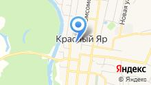СП ДОД ГБУ СОШ с. Красный Яр на карте