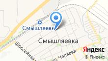 Тепло Волжского района на карте