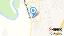 Анталс на карте