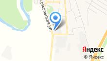 Красноярское молоко на карте