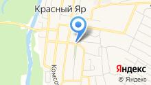 Собрание представителей муниципального района Красноярский на карте