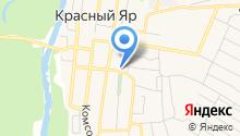 Администрация муниципального района Красноярский на карте