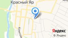 Красноярское профессиональное училище на карте